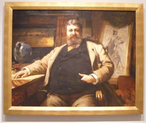 Portrait of H. H. Richardson by Sir Hubert von Herkomer (1886), National Portrait Gallery, Smithsonian Institution
