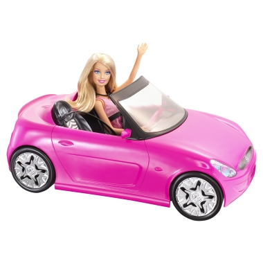 Barbie's sweet ride