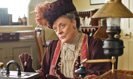 Maggie Smith as the Rt Hon Violet, Countess of Grantham