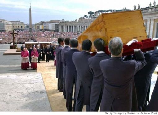the funeral of John Paul II