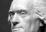 Thomas Jefferson, sculpted by Houdon (1789)
